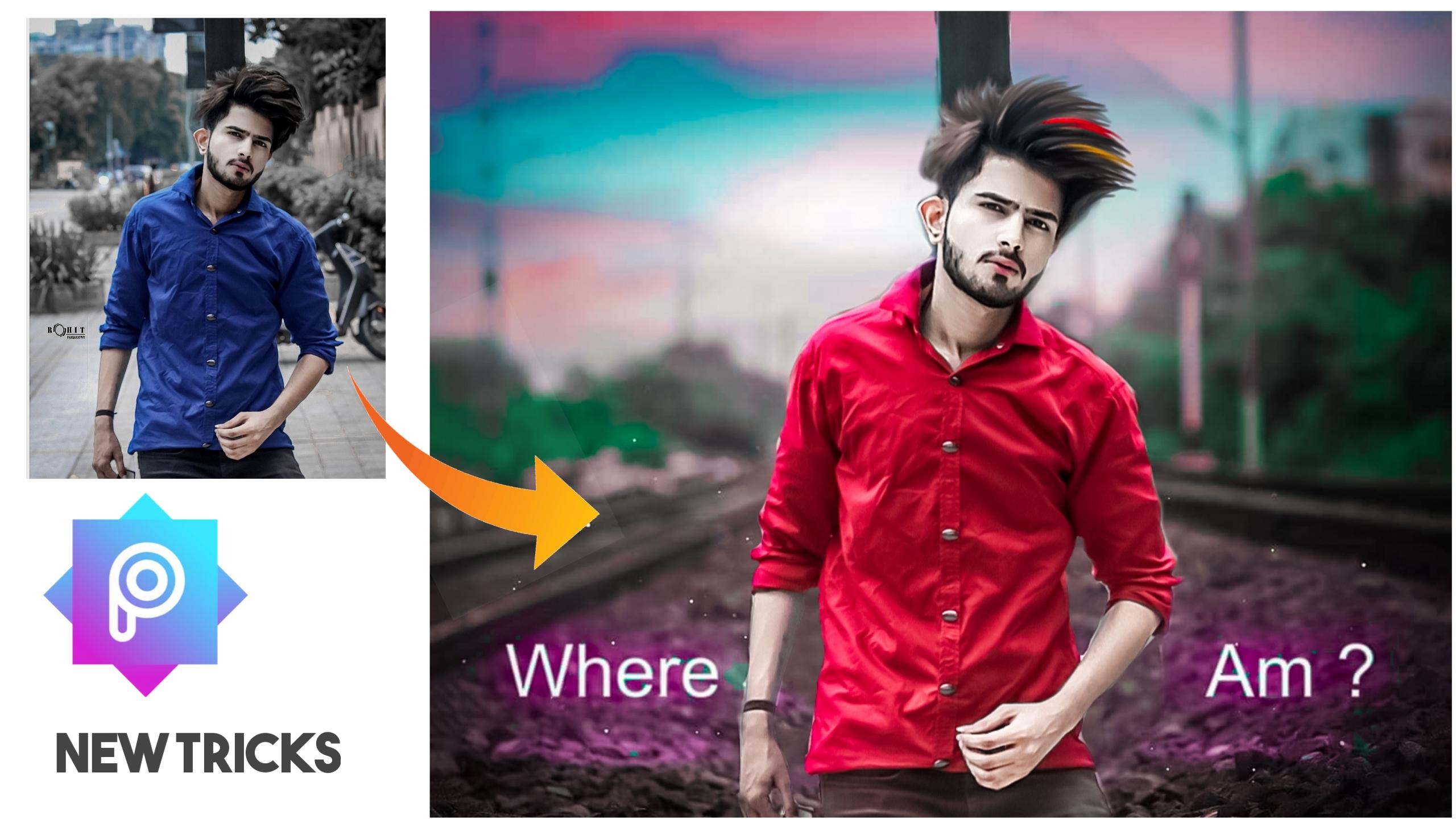 Picsart Background Change