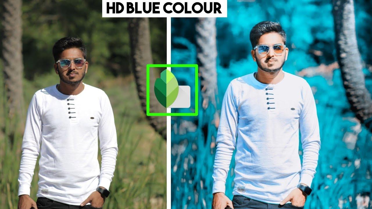 hd blue tone editing