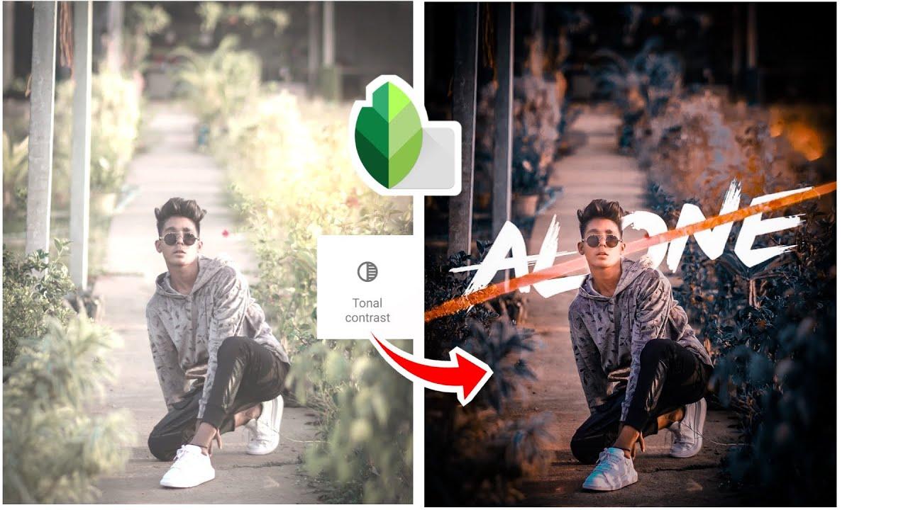 alone text pngsnapseed photo editing shailesh editing zone